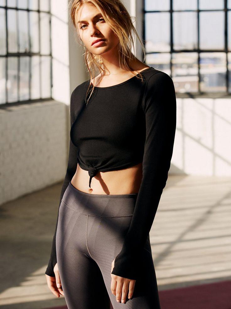 New Wave Crop Women's Workout Clothes | Gym Clothes : Shop @ FitnessApparelExp.....