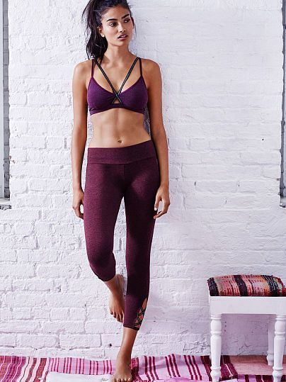 The Everywhere Shimmer Strappy Capri: #yoga #fitness #leggings | Shop @ FitnessA...