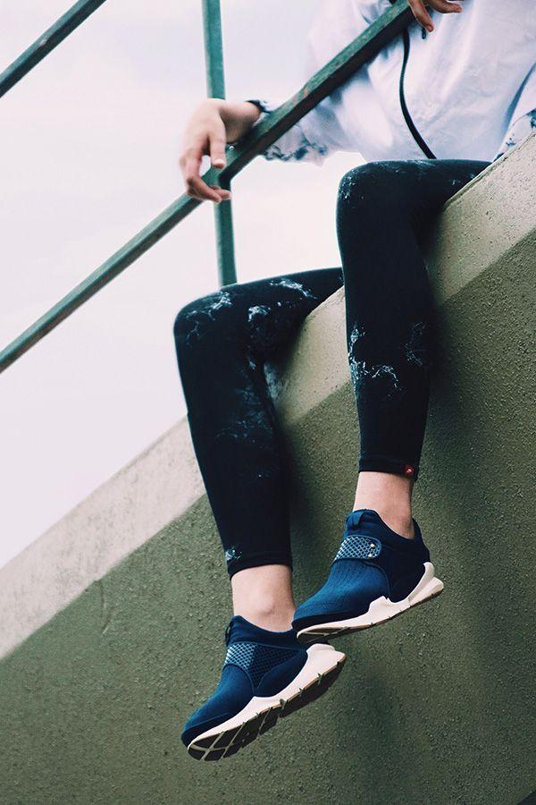 The NikeWomen Sock Dart Sneaker re-envisions everyday street style sans socks. T...