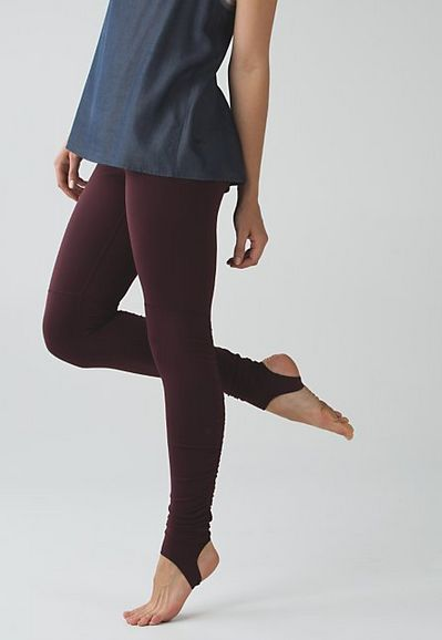 Wunder Under Pant (Stirrup): Stirrups keep hems down and chills out while you&#3...