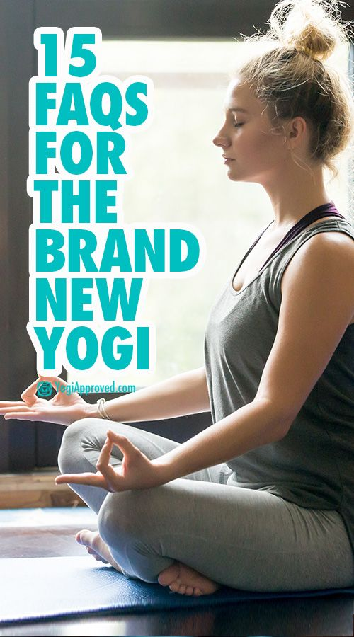 15 FAQs for the Brand New Yogi