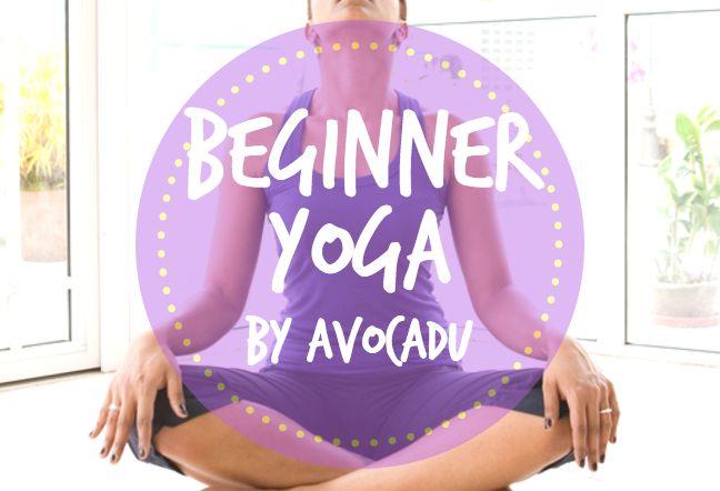 Beginner yoga by Avocadu