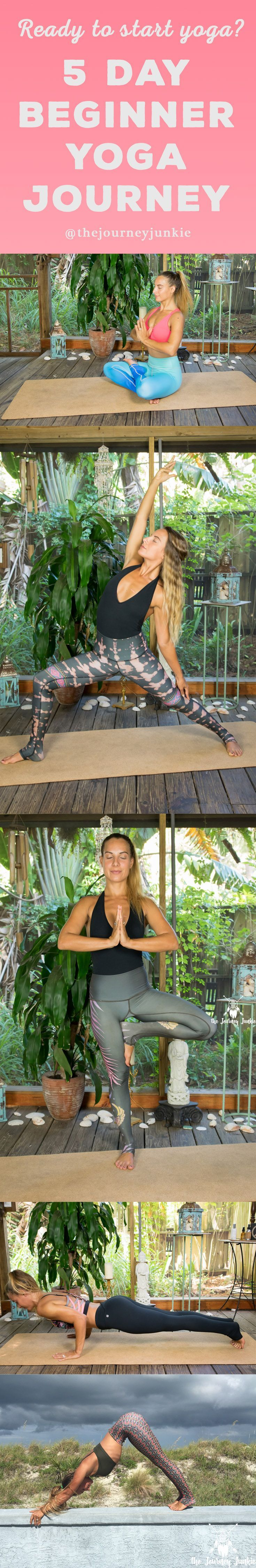 Do you want to start yoga, but don't know how? Join me for a 5 day yoga jour...