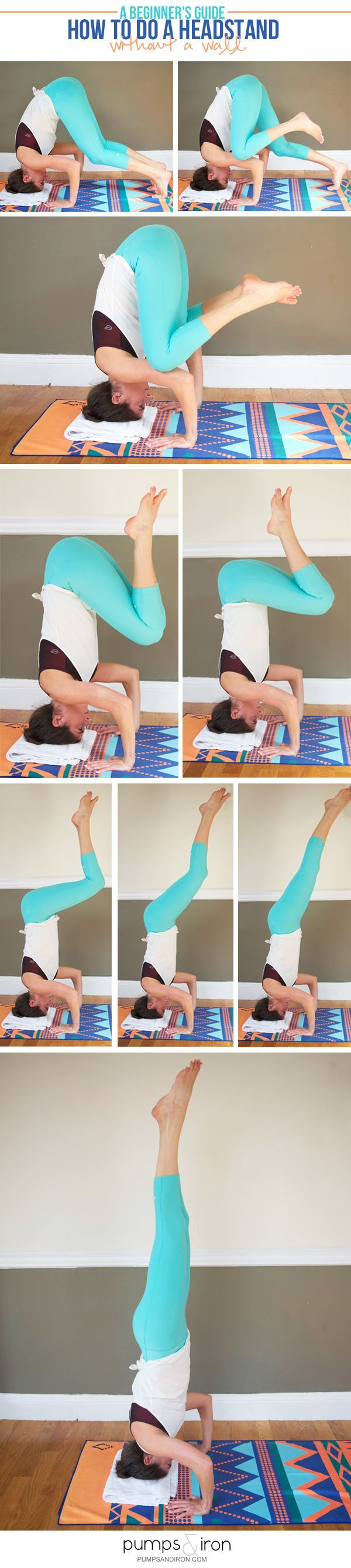 How to Do a Headstand without a Wall -- there are lots of ways to get into a hea...