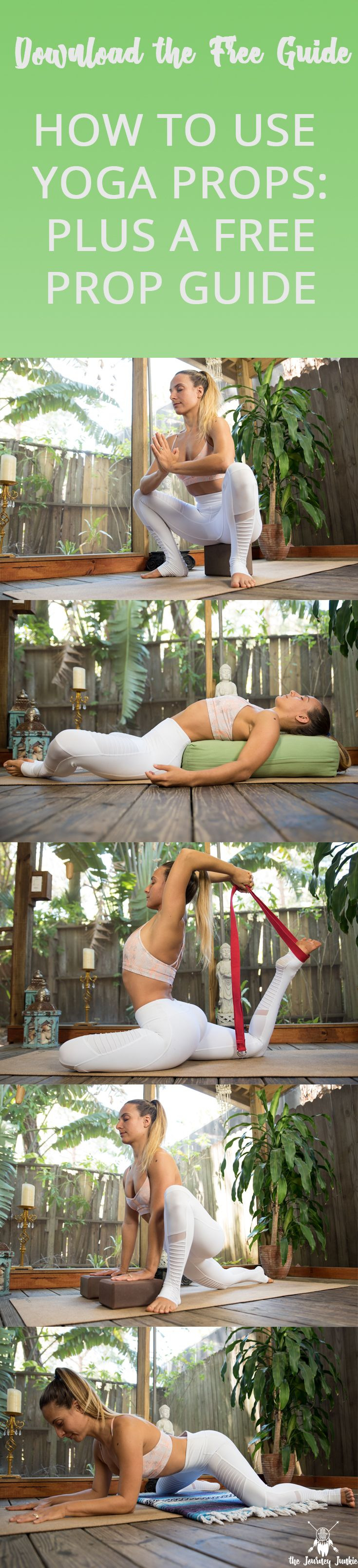 How to Use Yoga Props + a Free Yoga Prop Guide I Learn how to use my four favori...