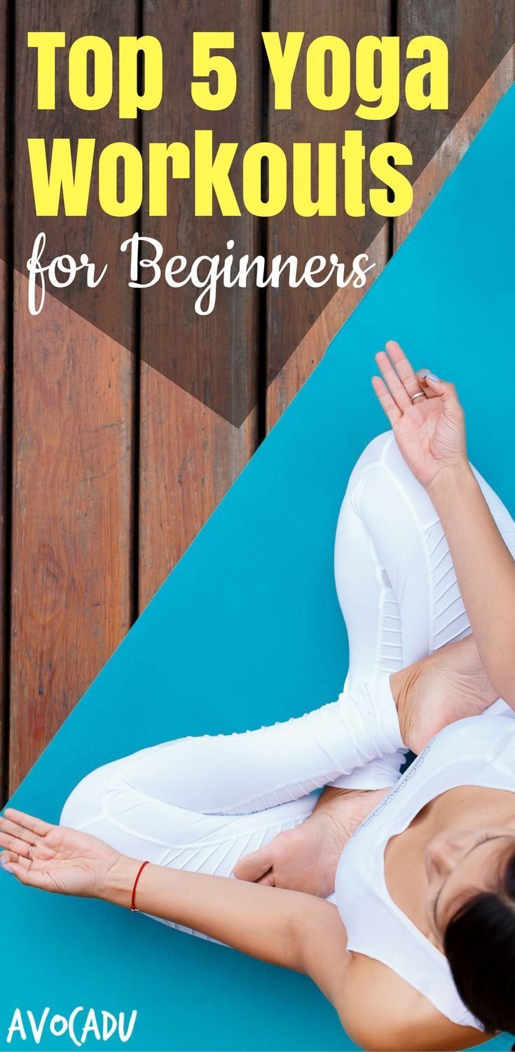 Top 5 yoga workouts for beginners to get started with yoga   #beginneryoga #work...