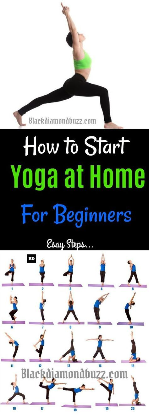 Yoga Poses: 7 Easy Best Yoga Poses for Beginners and Back Stretches at Home. You...