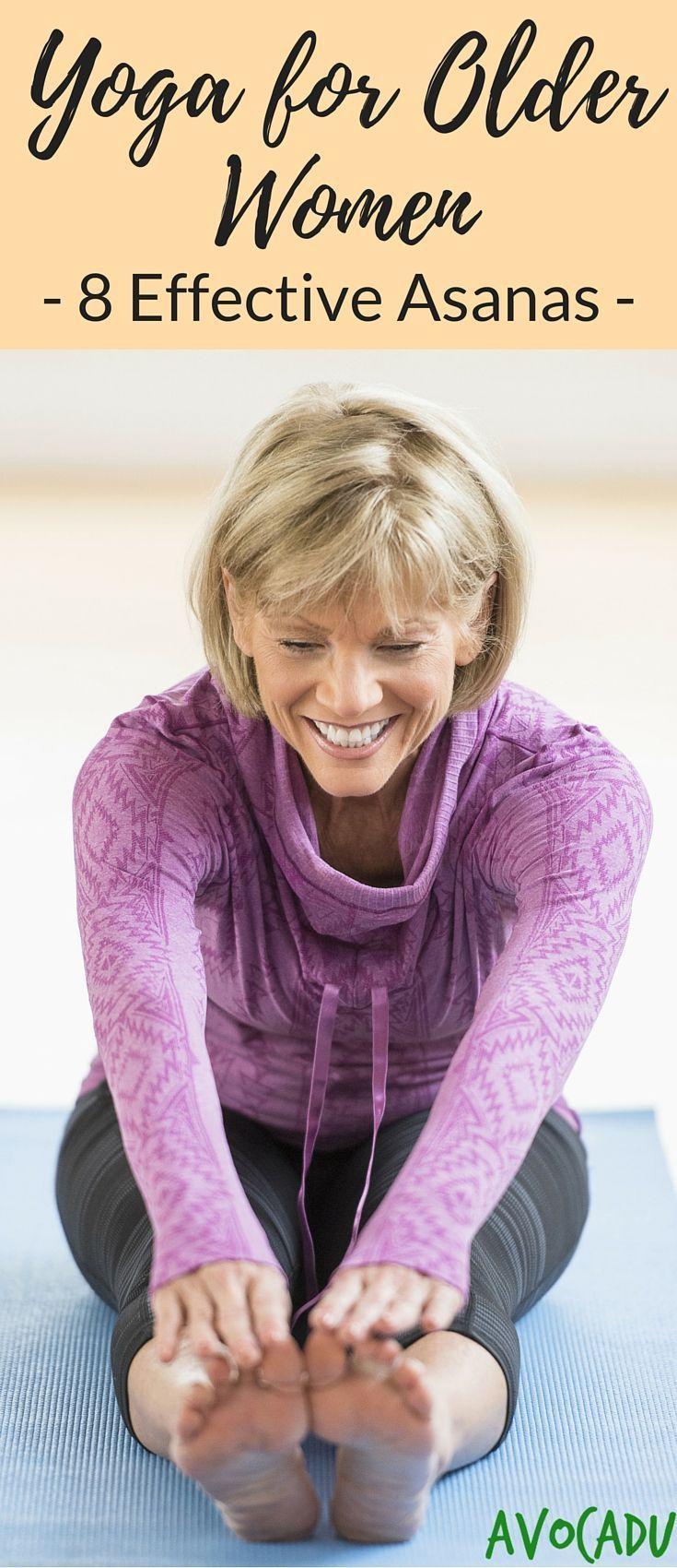 Yoga Poses for Older Women   Yoga for Older Women   Yoga for Beginners   avocadu...