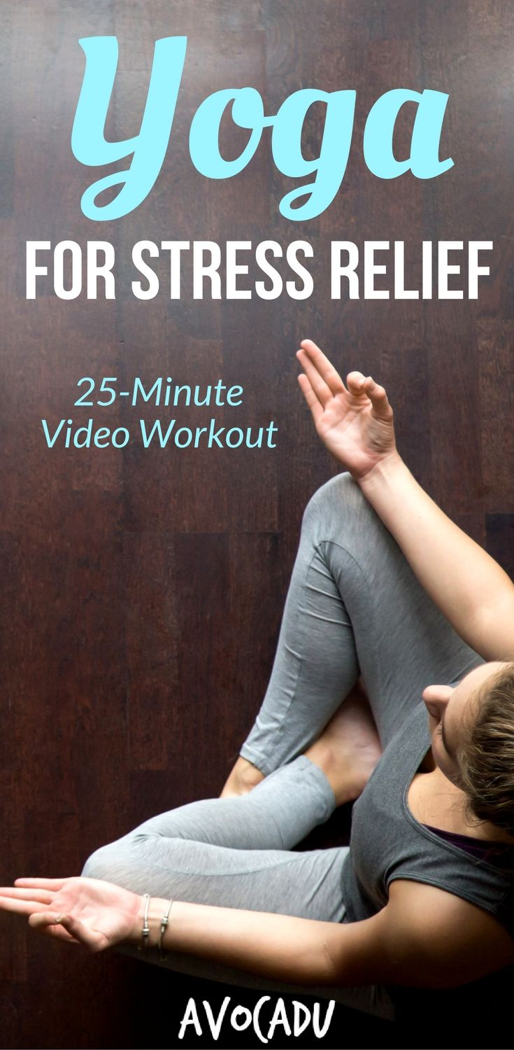 Yoga for Stress Relief   Yoga for Beginners   Yoga Workout Video   Yoga Video   ...