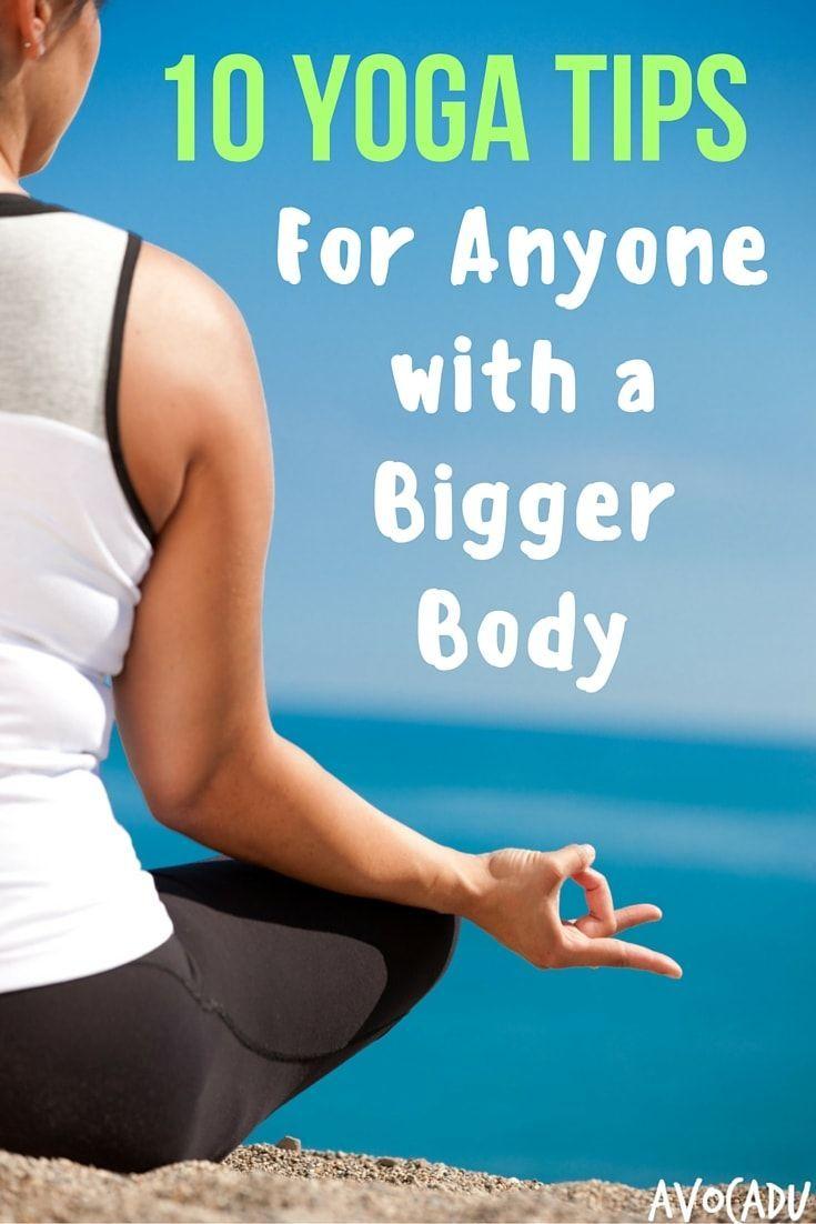 Yoga for a Bigger Body | Yoga for Plus-Sized Women | Beginner Yoga Tips | avocad...
