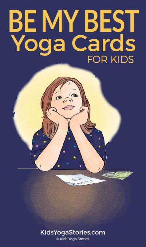 Be My Best Yoga + Affirmation Cards for Kids  Teach your children how to shine a...
