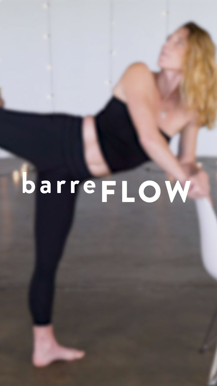 Combine ballet-inspired moves with elements of Pilates, dance, yoga and strength...