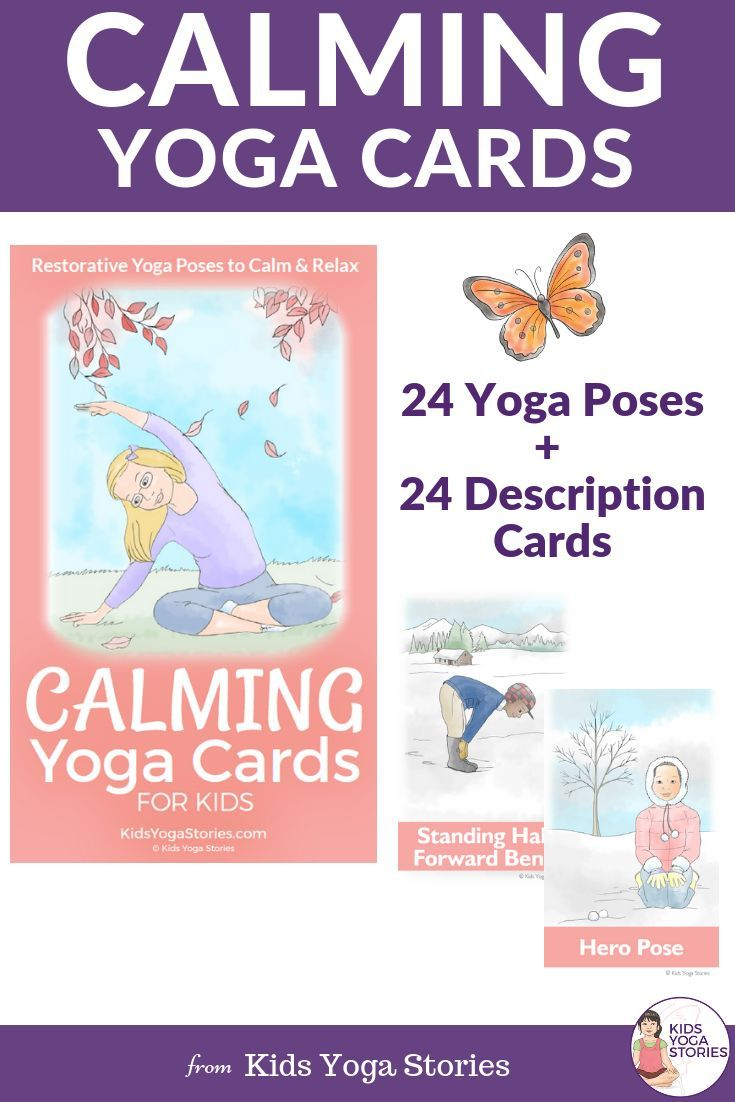 LOOKING TO BRING CALM TO YOUR KIDS LIVES? Calming Yoga Cards provide an engaging...