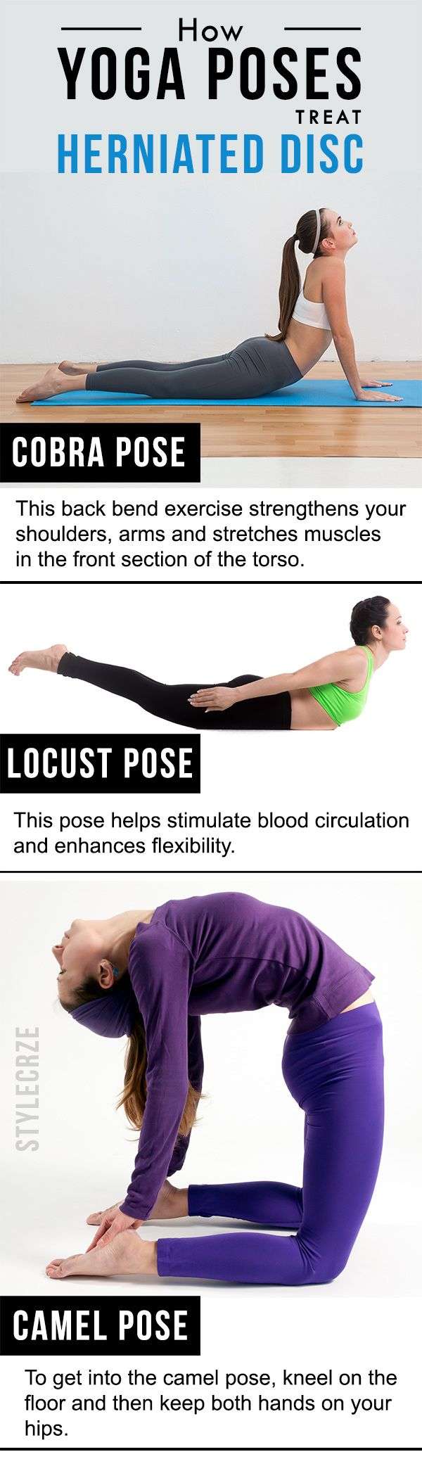 3 Effective Yoga Poses To Treat Herniated Disc