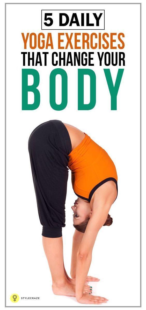 5 Daily Yoga Exercise