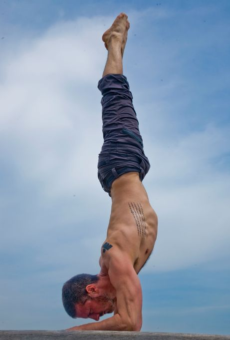 As a dude who teaches yoga, it's awesome to see other men getting into the pract...