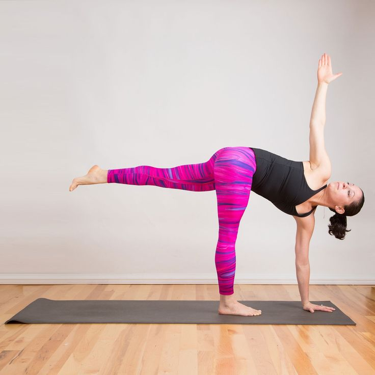 Damn, This Yoga Pose Is Tough, but It'll Really Shape Your Butt!