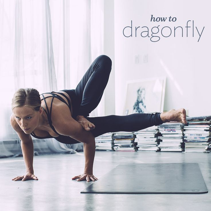How to Dragonfly in seven steps.  #dragonfly #yogaposes #yogatips