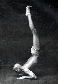 Krishnamacharya... the father of modern yoga and teacher of Sri K Pattabhi Jois ...