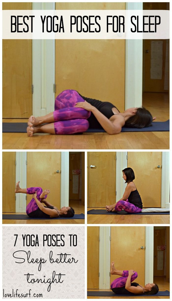 Suffering from insomnia or restless sleep? Try this bedtime yoga sequence to rel...