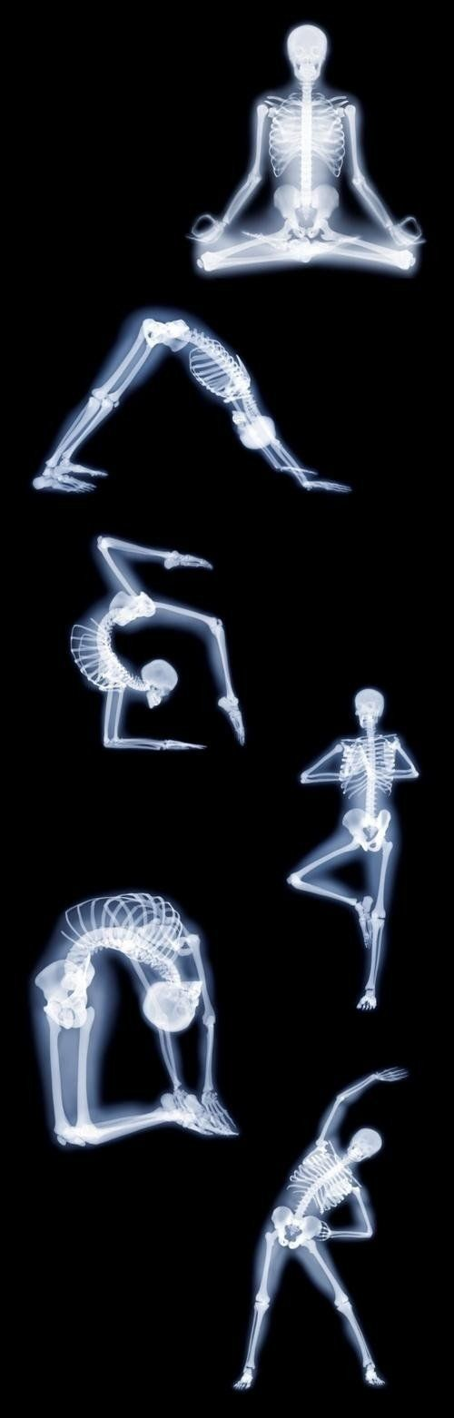 This might be better suited to photography but they are yoga poses. The only thi...
