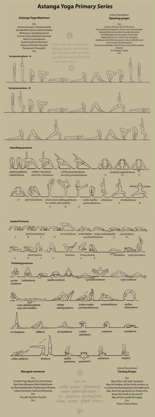 ashtanga primary series-deceptively hard. takes roughly four years of daily prac...