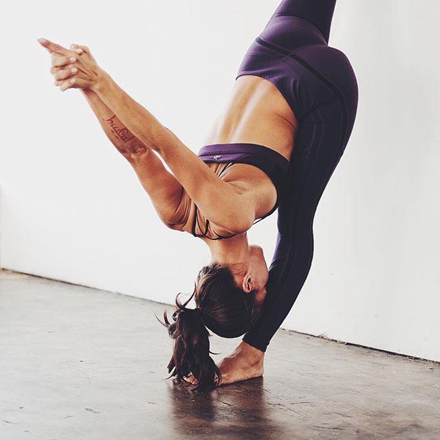 forward fold standing splits | yoga