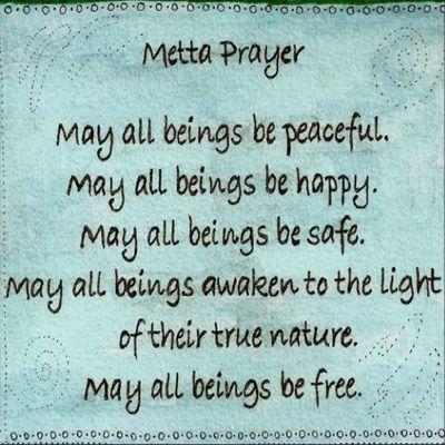 Metta Prayer