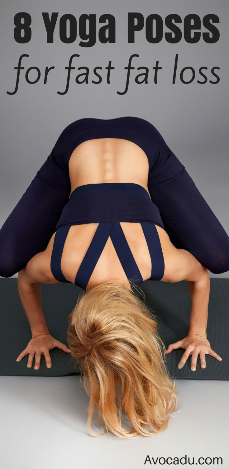 These 8 yoga poses are great for beginners or advanced yogis looking for weightl...