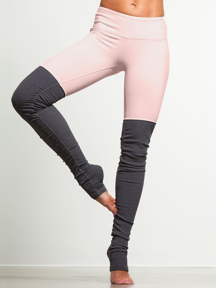 Find your chi in these ribbed leggings by Alo Yoga. Appropriately named consider...