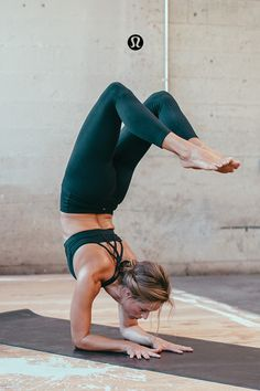 Scorpion pose is a beautiful balance of strength and vulnerability. It can be sc...
