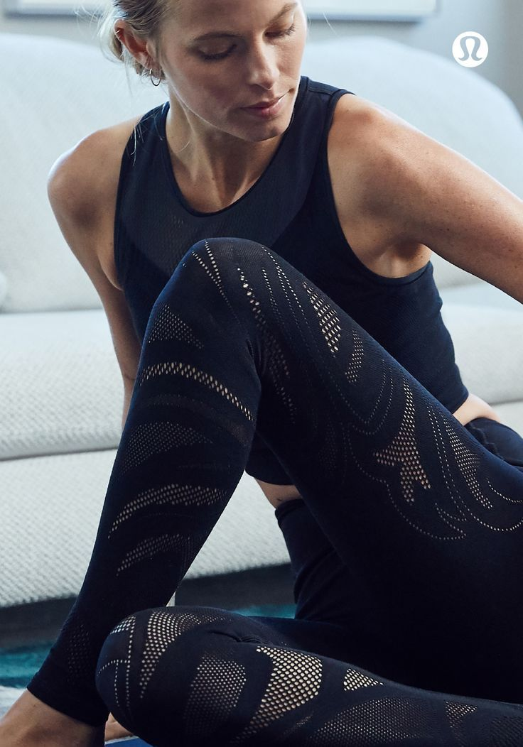 Sof, intricate mesh to keep you cool during your practice. | lululemon