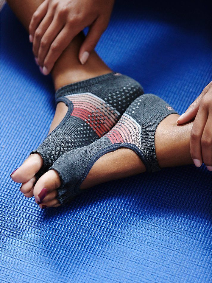 toesox Namaste Yoga Sock at Free People Clothing Boutique... I HAVE to get some ...