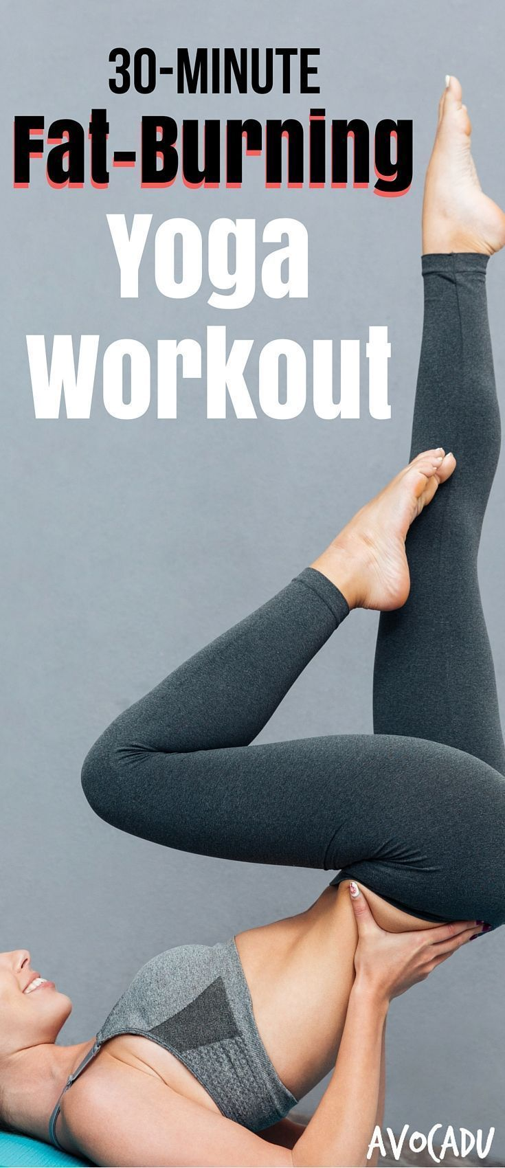 30-Minute Fat-Burning Yoga Workout | Yoga for Weight Loss | Yoga Workout for Beg...