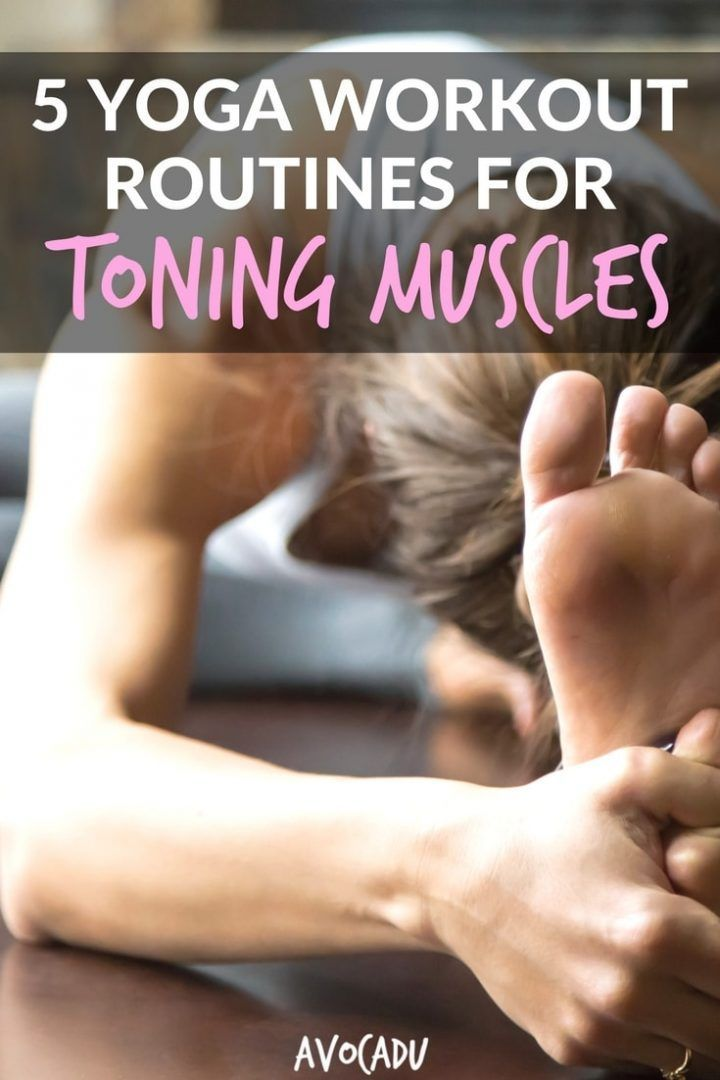 5 Yoga Workout Routines for Toning Muscles | Best Beginner Yoga Workouts | Yoga ...