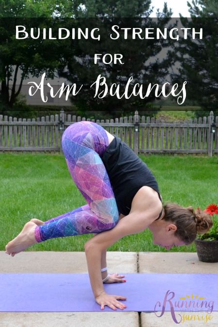 Building strength for arm balances. Try these yoga poses to help you build the s...