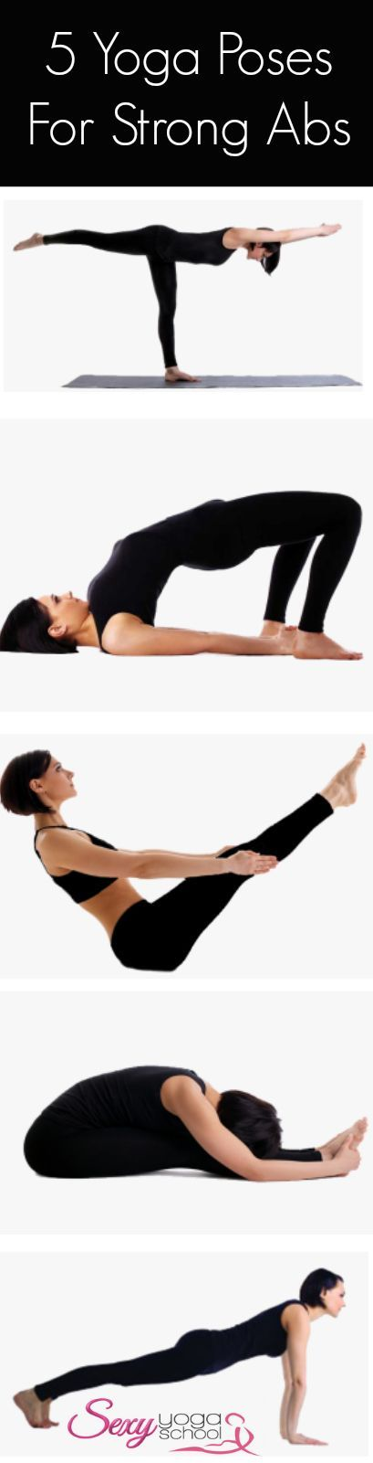 DownDog Yoga for Fun & Fitness: 5 Yoga Poses for Strong Abs. From the Downdog Di...