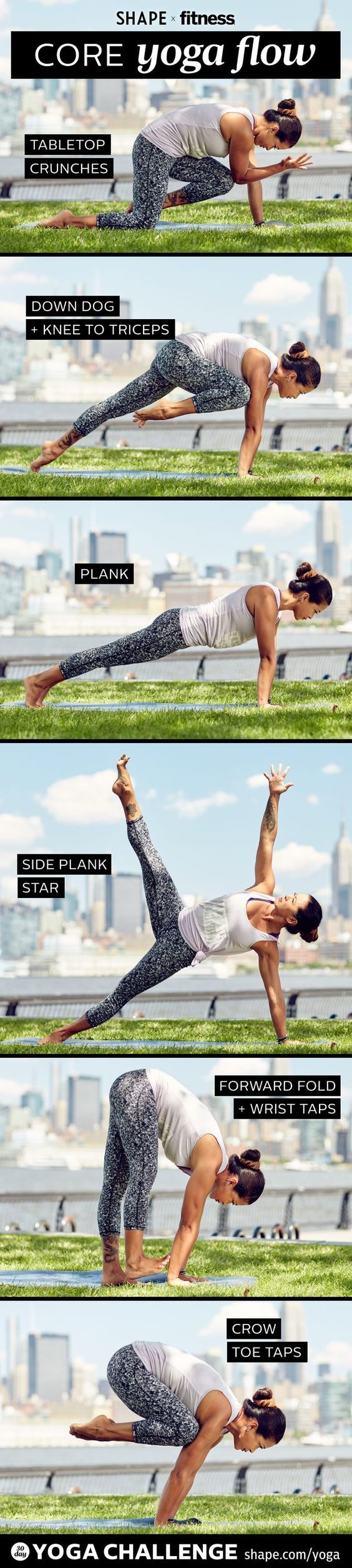 DownDog Yoga for Fun & Fitness: Core Yoga Flow. From the Downdog Diary Yoga Blog...