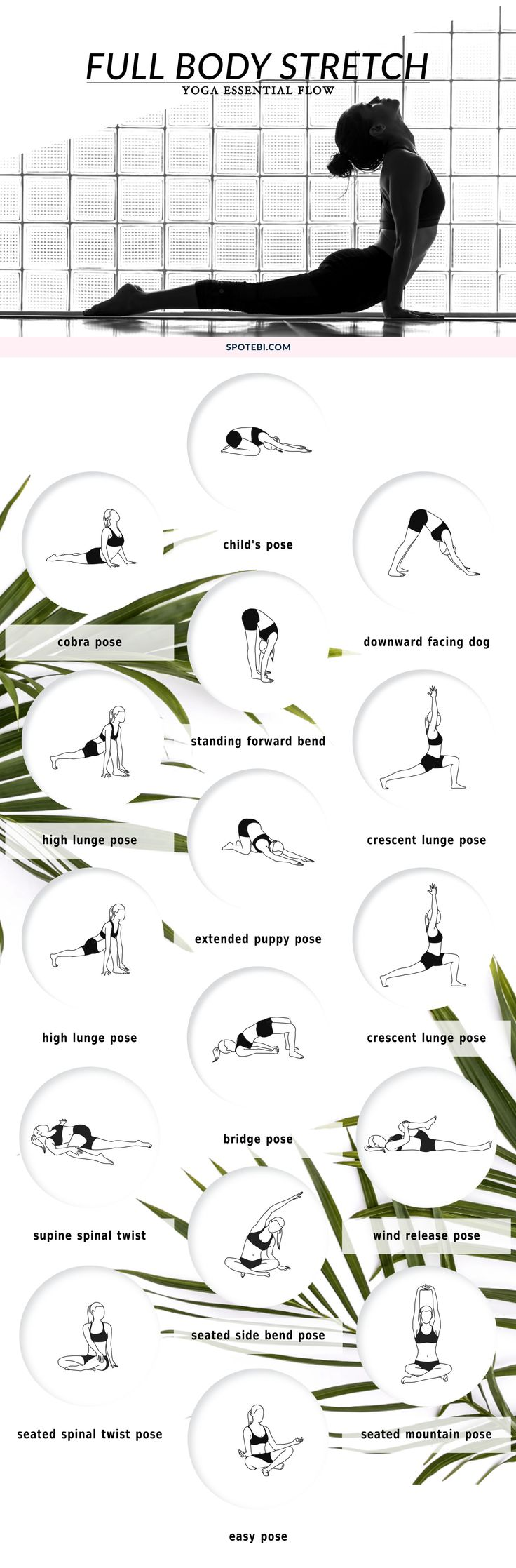Improve your range of motion, increase circulation, and calm your mind with this...