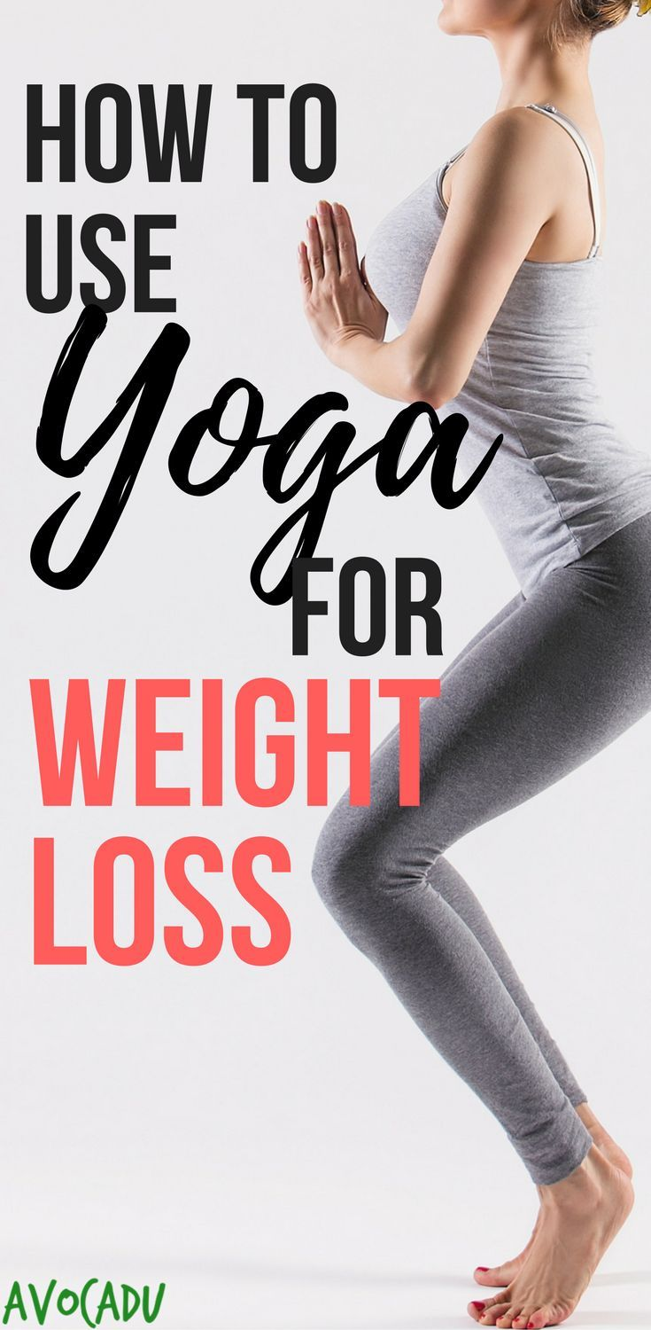 Learn how to use yoga for weight loss and other beginner yoga tips to help you l...