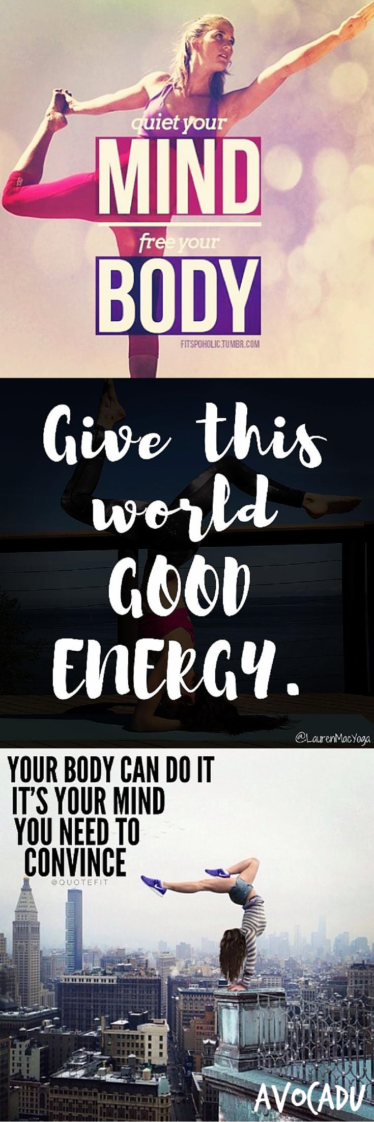 These yoga quotes for inspiration and motivation will help get your butt on the ...