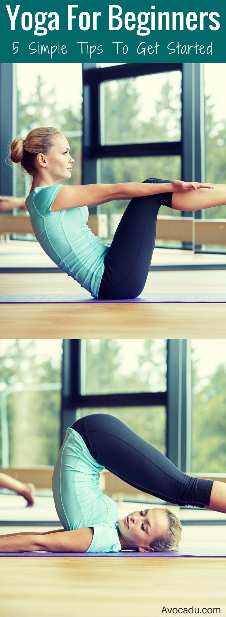 Yoga for Beginners | Yoga Tips for Beginners | Yoga Workout Tips | avocadu.com/....