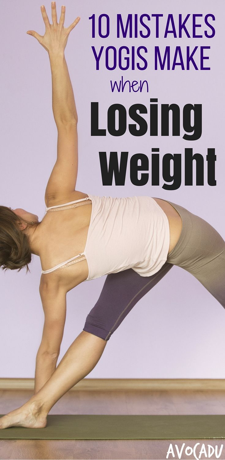 Yoga is one of the best exercises for weight loss, but it's also easy to make an...