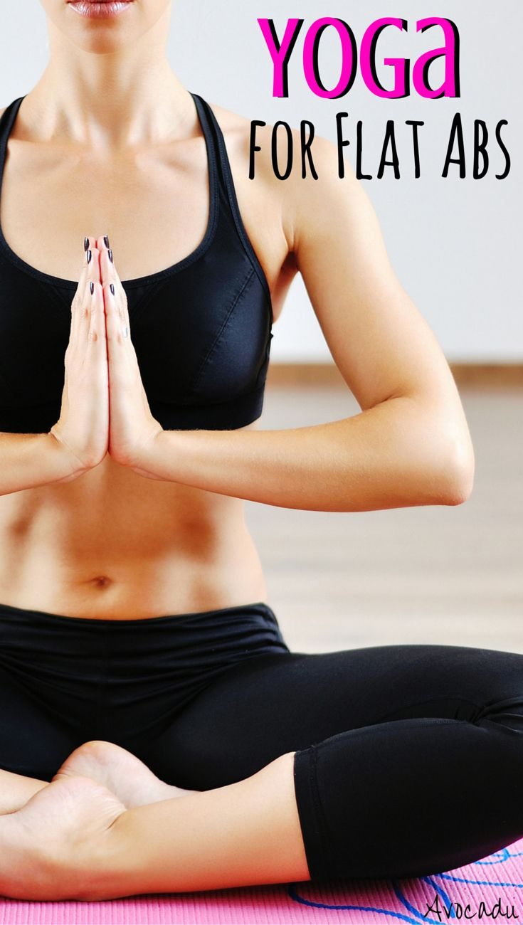 Yoga requires a LOT of core strength. It can help you get fabulous abs whether y...