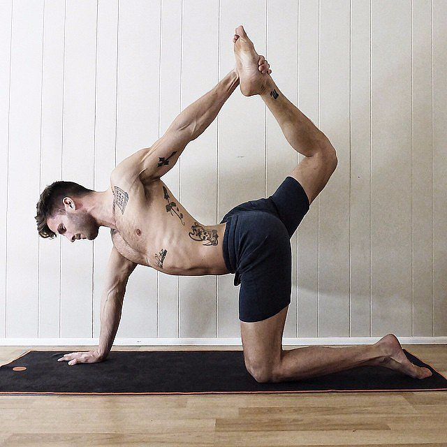 25 Steamy Shots of Hot Dudes Doing Yoga- Ever seen the pin