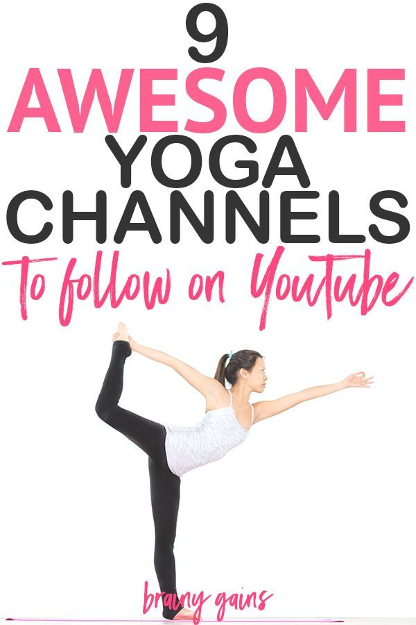 9 Amazing Yoga YouTube Channels for Free Yoga Workouts. There's something for ...
