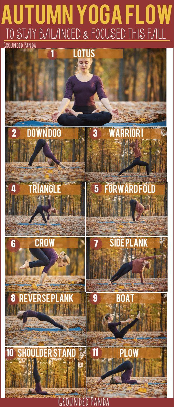 Autumn Yoga Flow.