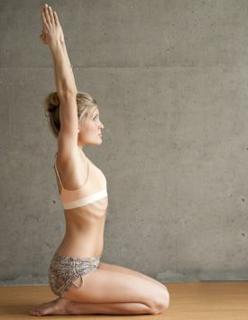 Beautiful Woman doing Half Tortoise Pose #BikramYoga #YogaPoses #Yoga