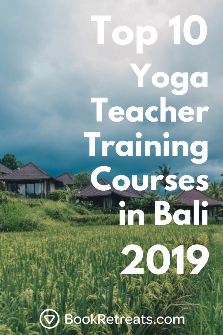 Become a certified yoga teacher in the land of the Gods: Bali! Bali is quickly b...