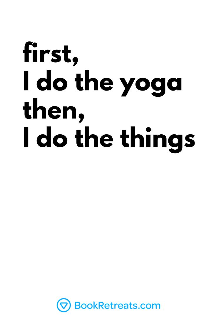 First I do the yoga, then I do the things ✌️ Click the link for more yoga + ...